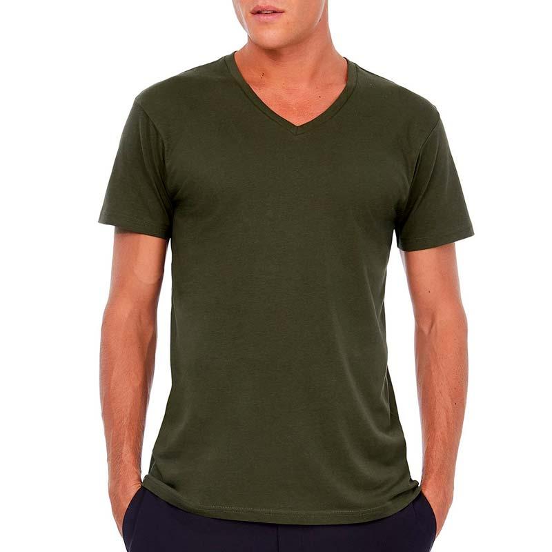 Männer T Shirt V Neck