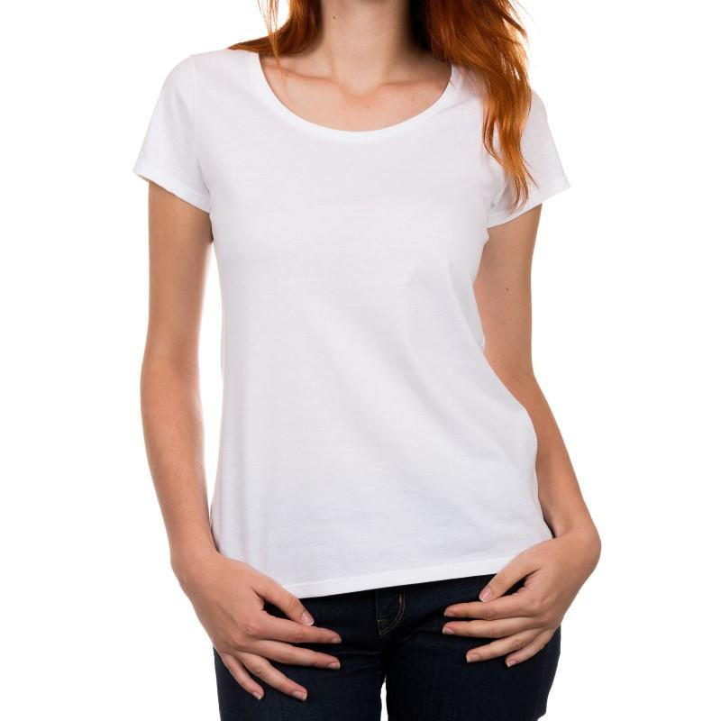 T Shirt Weiss Damen