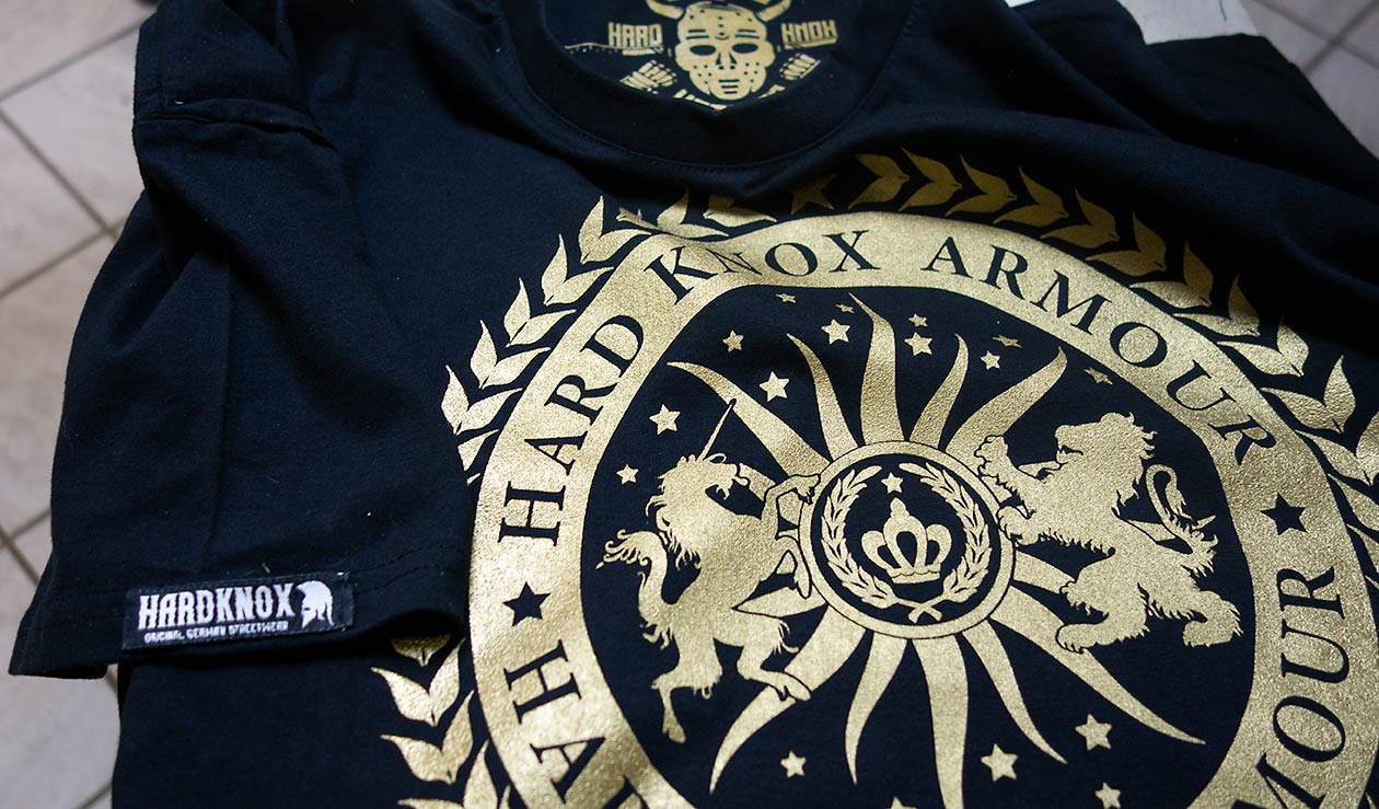 HardKnox T Shirt Druck 4